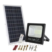 SOLAR FLOOD LIGHT 100W