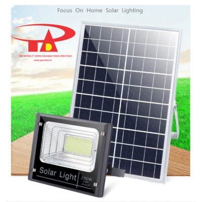 SOLAR FLOOD LIGHT 200W