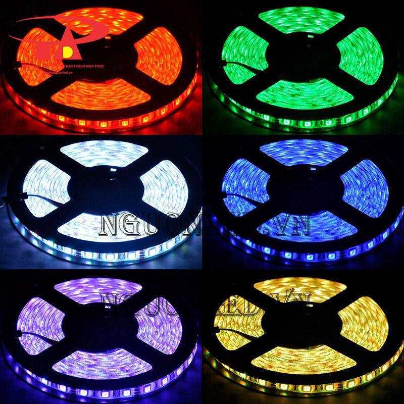 các màu đèn led dây trang trí