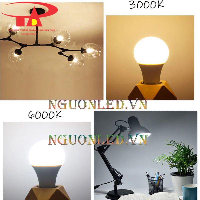 bóng đèn led búp trang trí nội thất