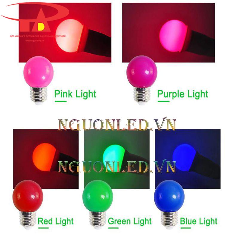 Bóng đèn led chanh 3w màu tím