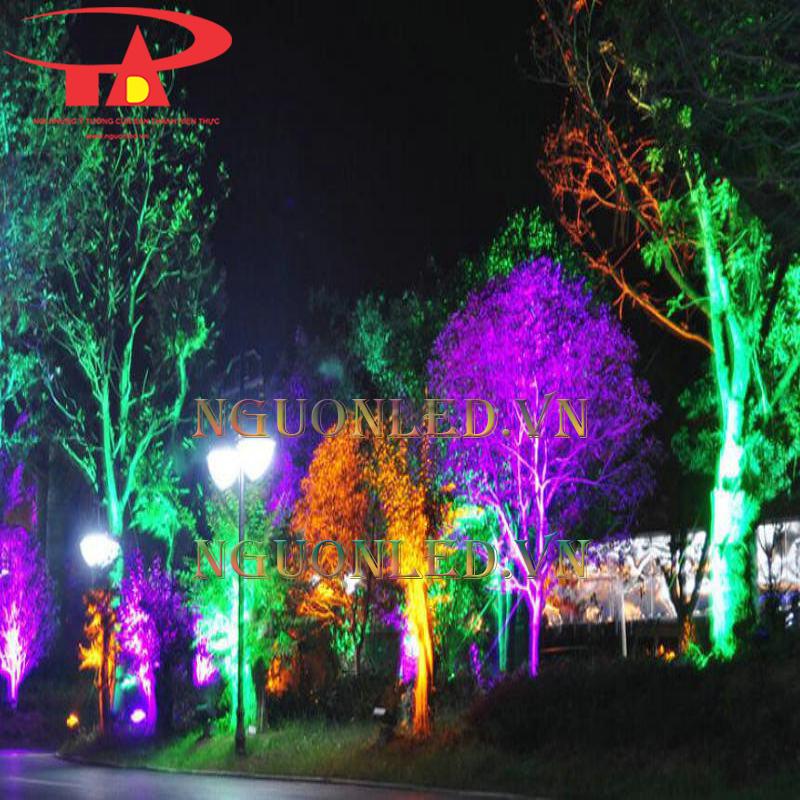 Đèn chiếu cây cảnh
