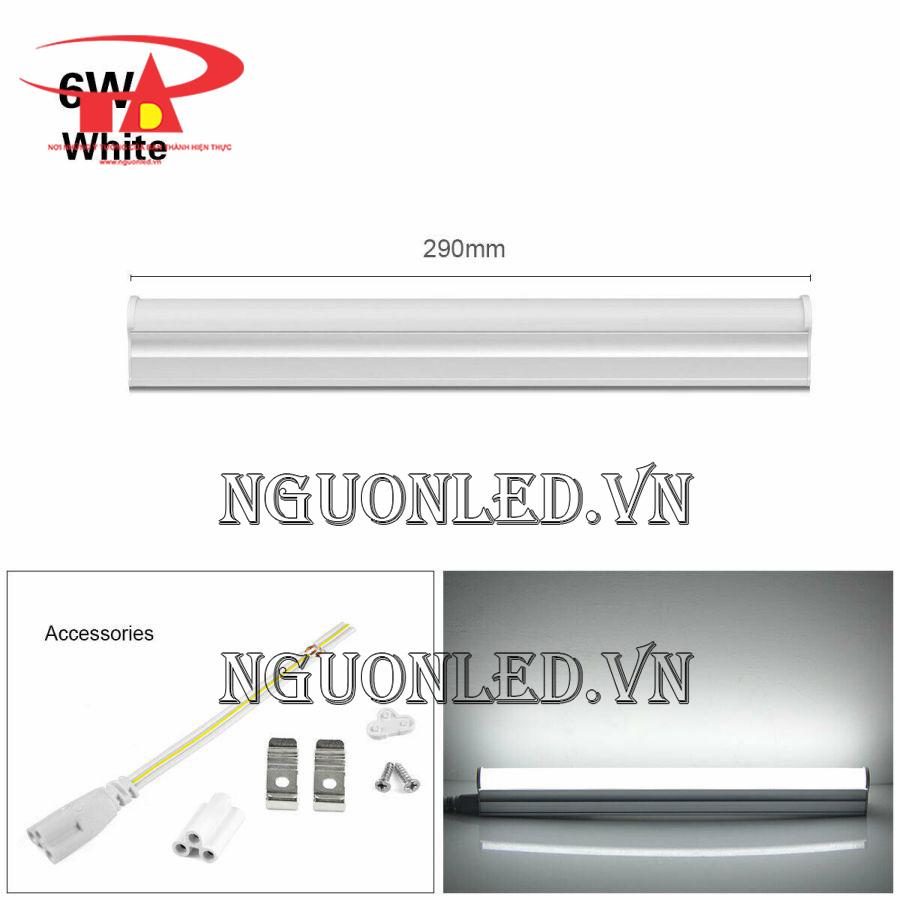 đèn led t5 trang trí ánh sáng trắng