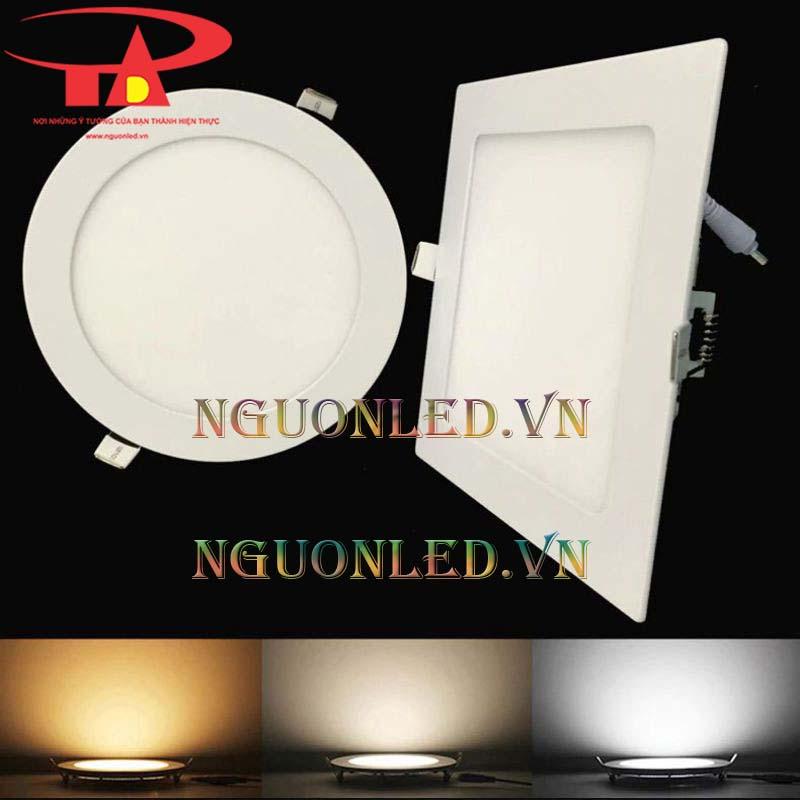 Đèn led downlight 3 màu 18w