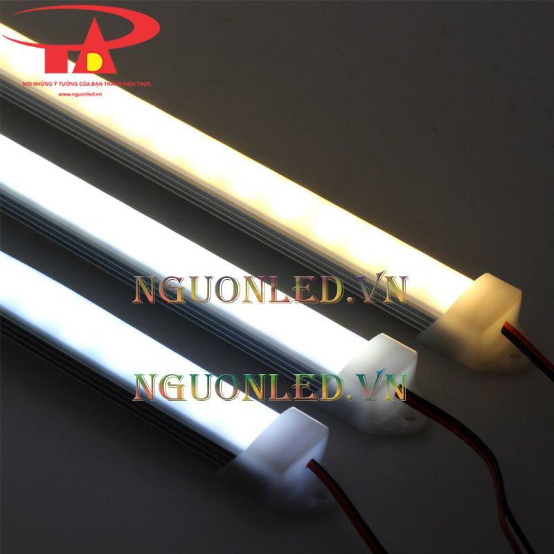 Đèn led thanh nhôm 220v chip đôi