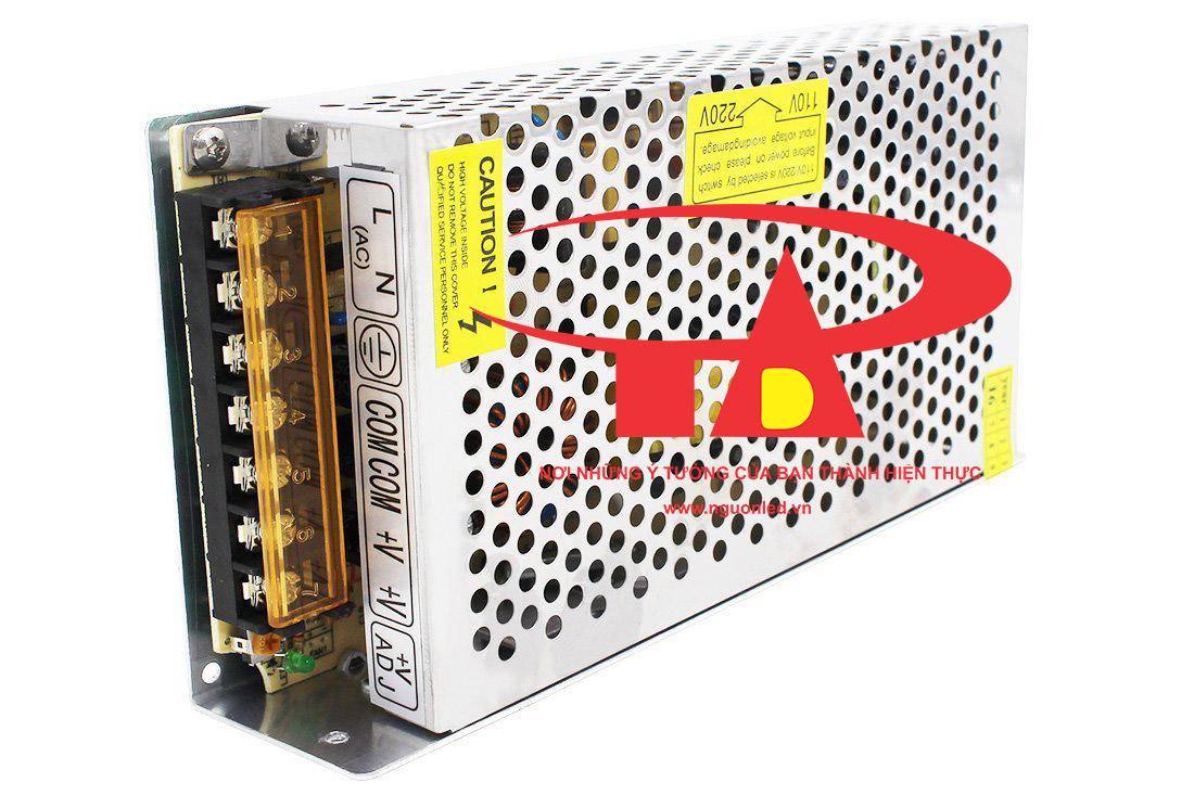 Nguồn tổng 12V 15A loại tốt, giá rẻ, bảo hành 1 năm, nguonled.vn