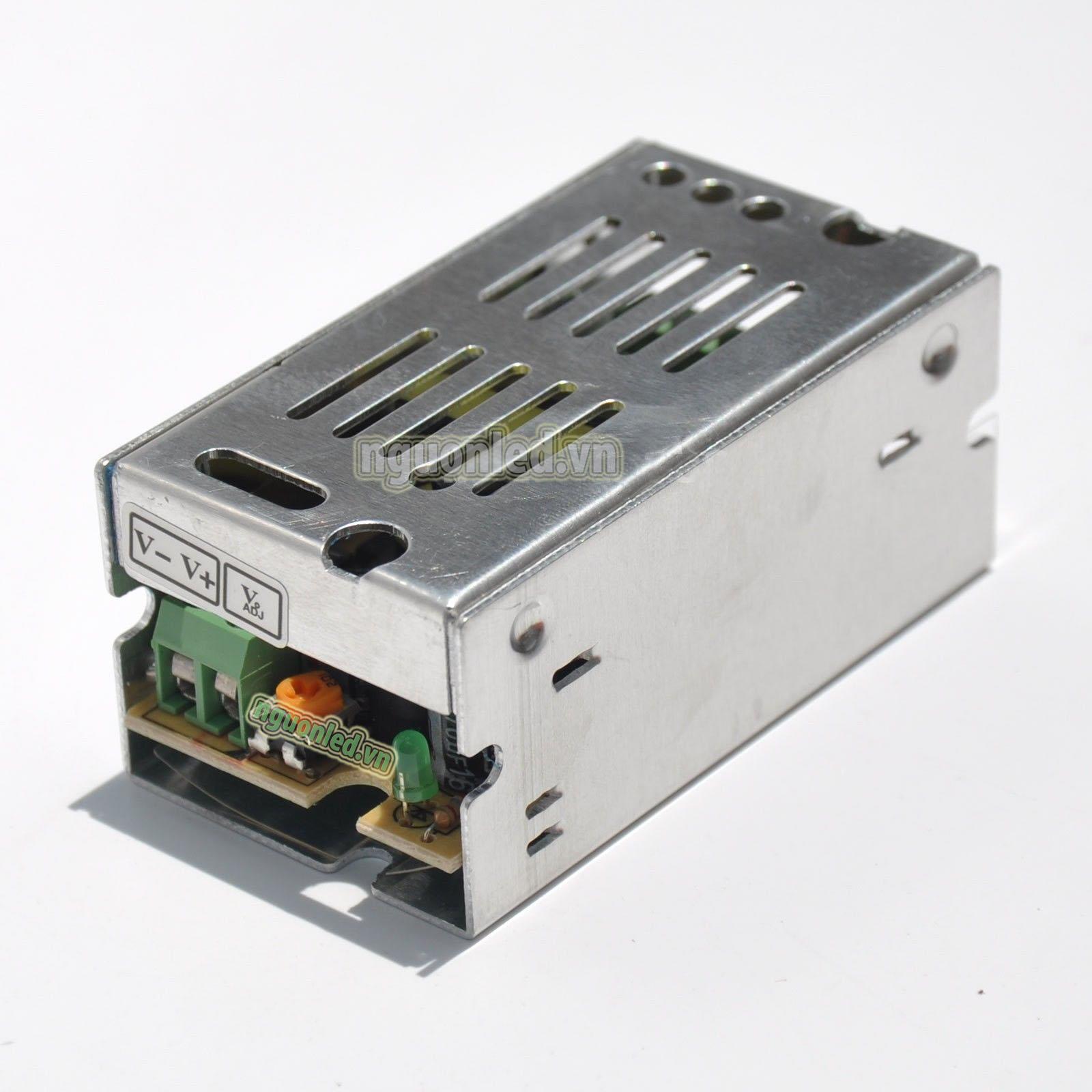Nguồn tổng 12V 1A loại tốt dùng cấp nguồn 12v cho đèn led, camera, nguonled.vn