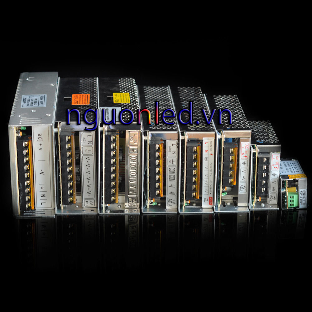 Nguồn tổng 12V 20A có quạt, loại tốt, giá rẻ, đủ ampe, mua tại nguonled.vn