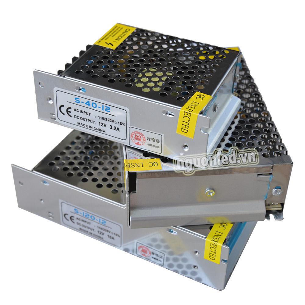 Nguồn tổng 12v3A loại tốt, đủ ampe,sử dụng cho camera và đèn led mua tại nguonled.vn