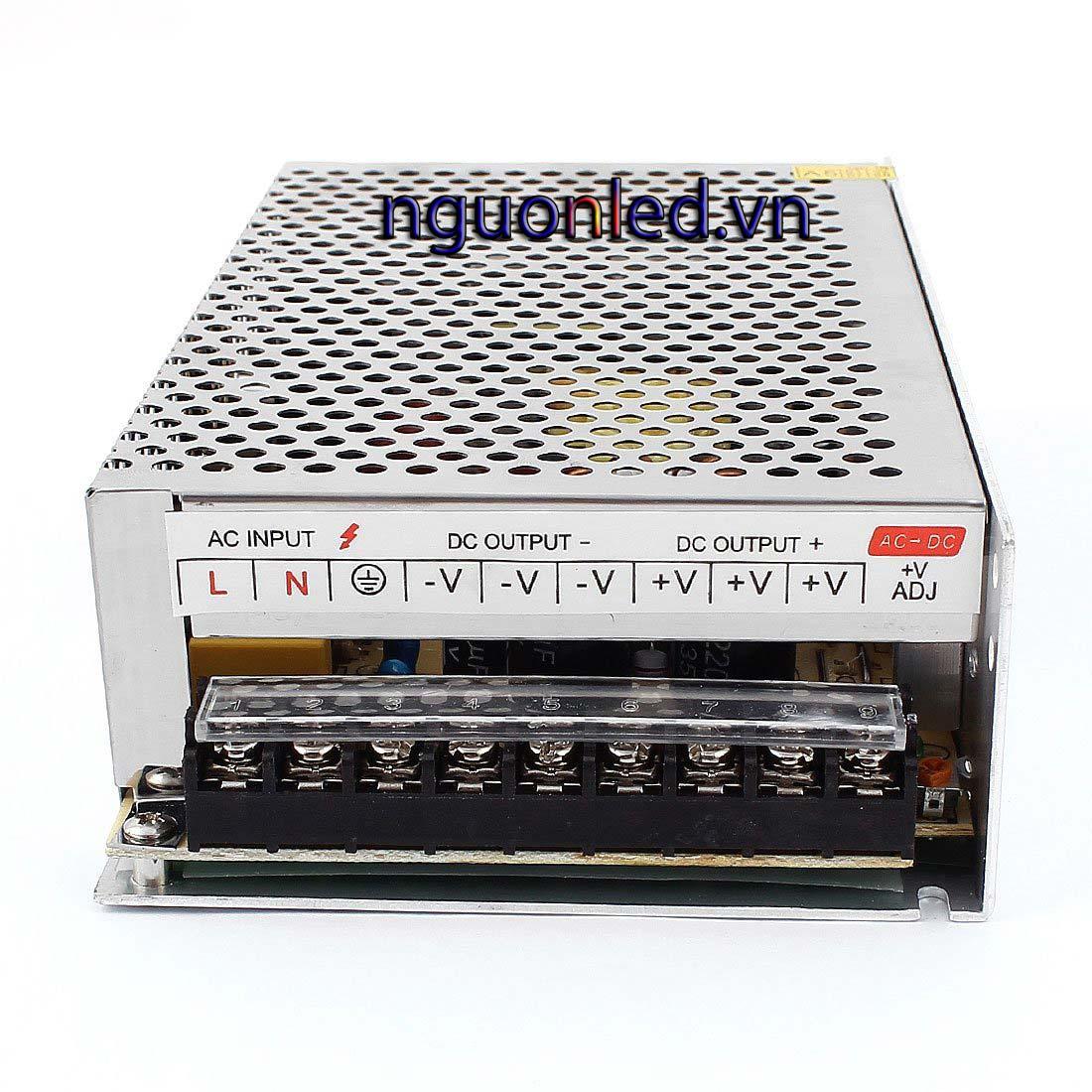 Nguồn 24V 10A loại tốt, giá rẻ, đủ ampe, chất lượng, BH 1 năm, nguonled.vn