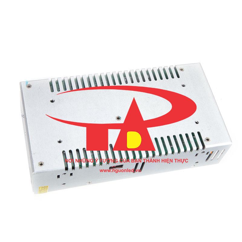 Bộ nguồn 24V 15A loại tốt, chất lượng, đủ ampe, giá rẻ, có quạt dùng cho đèn led, tự động hóa, camera, nguonled.vn