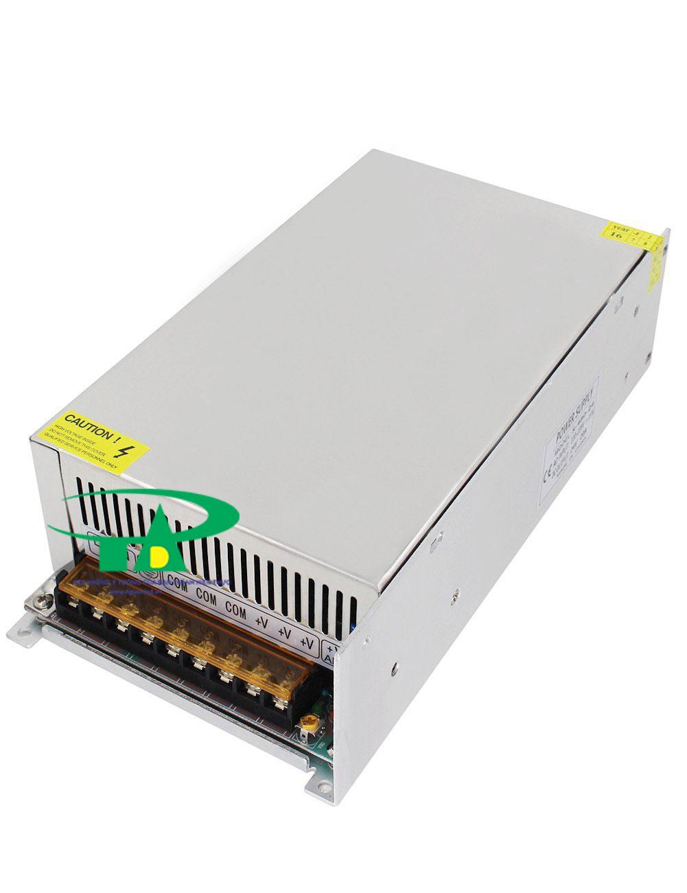 Bộ Nguồn 24V 20A loại tốt, giá rẻ dùng cho camera, đèn led, tự động hóa tại TPHCM