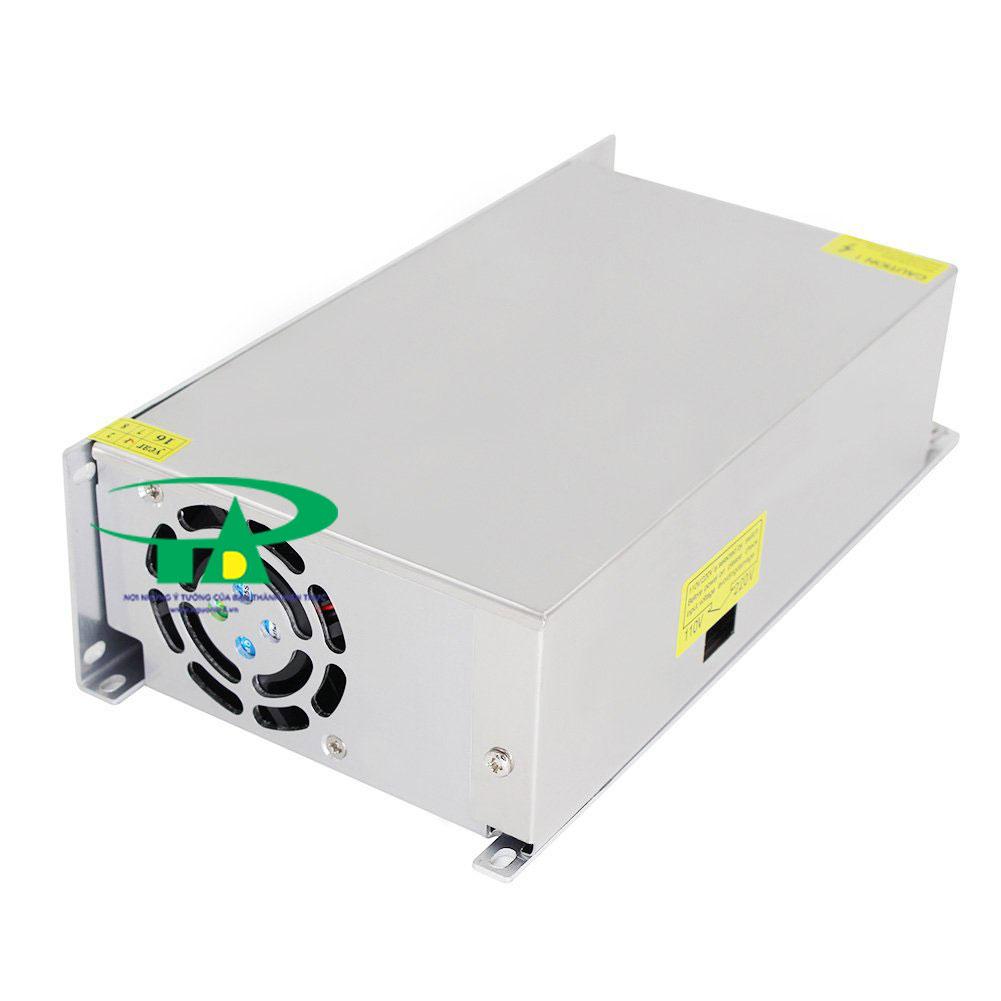 Bộ Nguồn 24V 20A loại tốt, giá rẻ dùng trong tự động hóa, điện công nghiệp, đèn led chiếu sáng