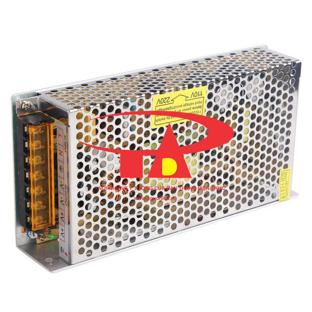Nguồn 24V 5A loại tốt, giá rẻ, chất lượng, đủ ampe, mua tại nguonled.vn