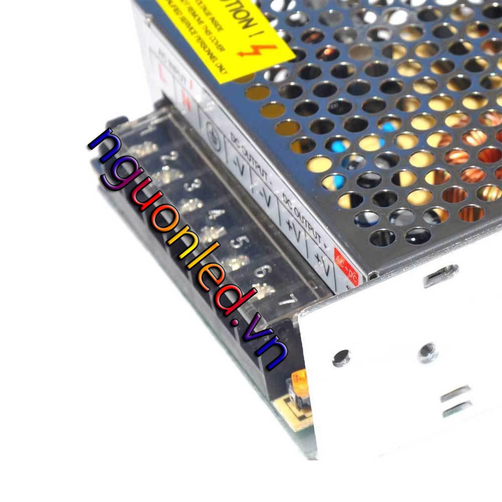 Nguồn tổng 24V 5A loại tốt, giá rẻ, chất lượng, đủ ampe, mua tại nguonled.vn
