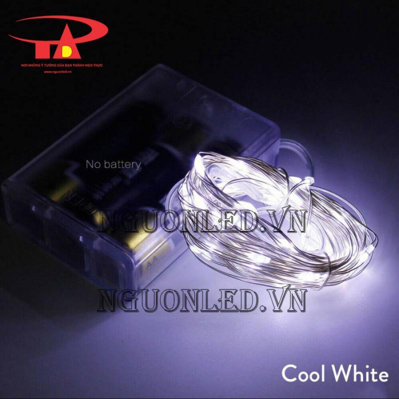 Bán đèn led dây kẽm dùng pin tại hcm