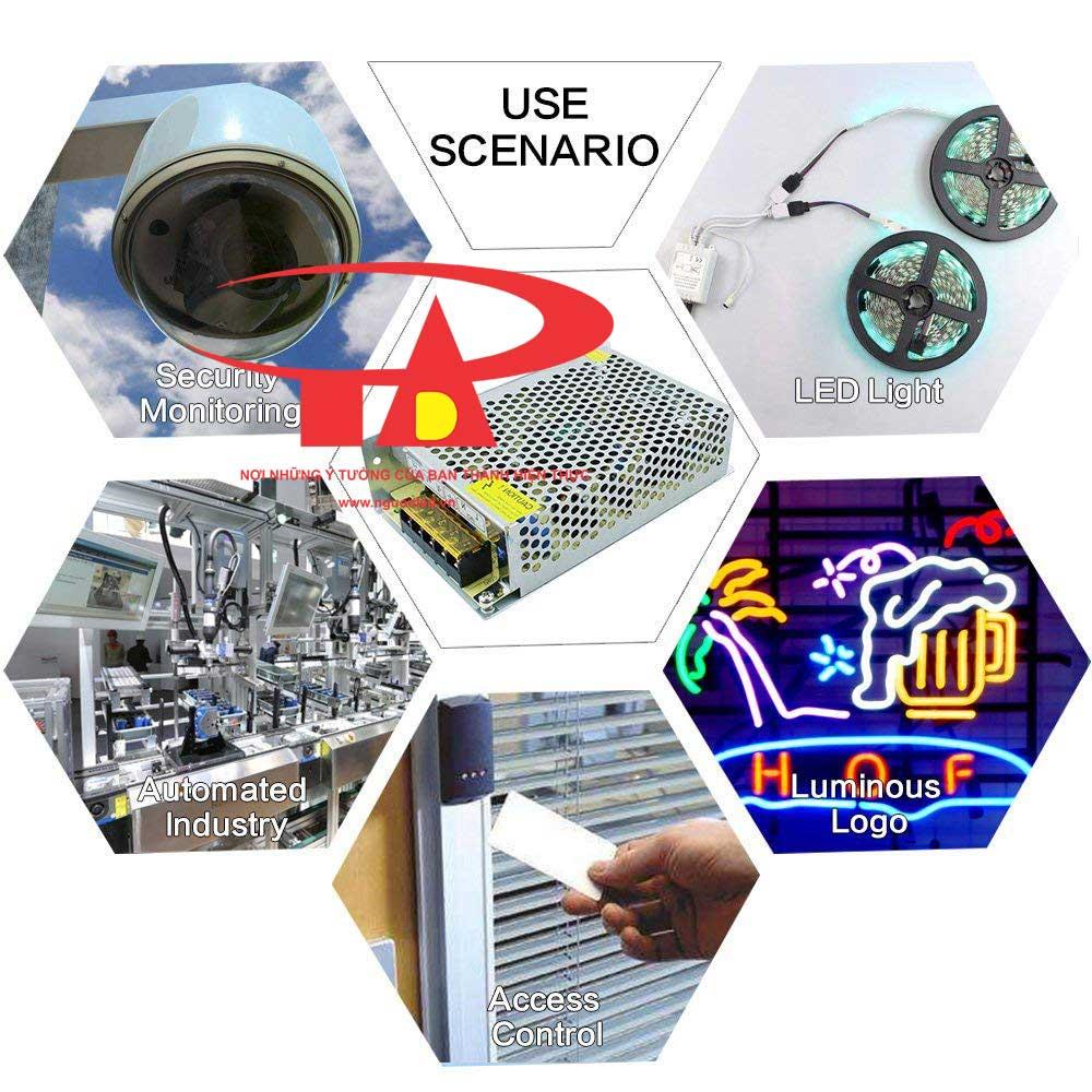 Nguồn 5V 2A loại tốt, giá rẻ, chất lượng, đủ Ampe, BH 1 năm, dùng cấp nguồn 5V cho đèn led, camera, bơm mini, tự động hóa