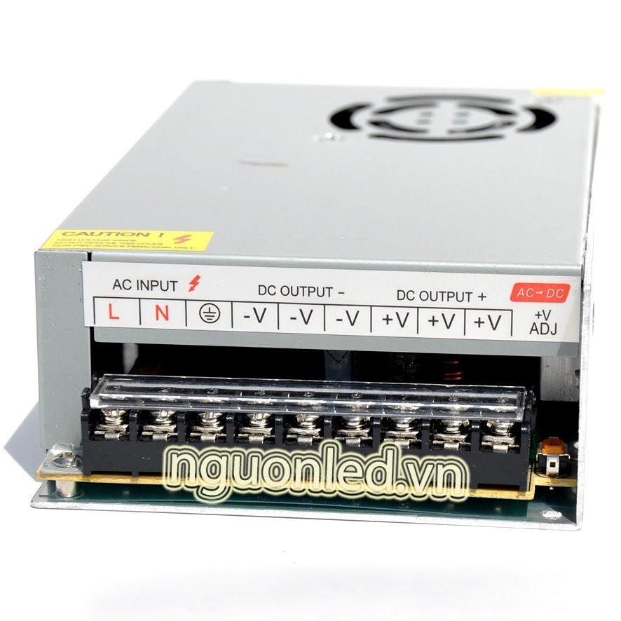Nguồn led 5v 40A loại tốt dùng cho camera, đèn led và điện công nghiệp mua tại nguonled.vn