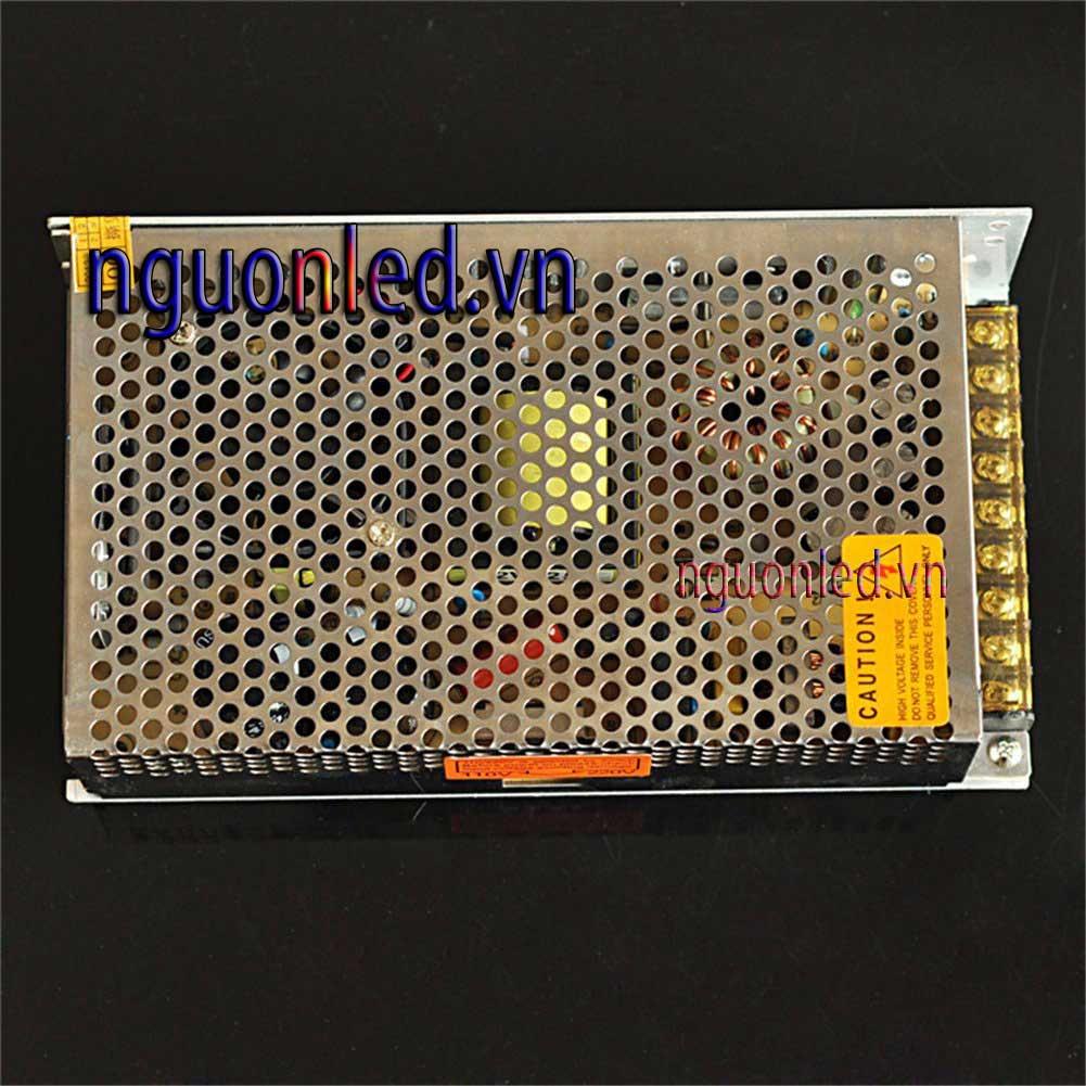 Nguồn 5V 40A không quạt, loại tốt, giá rẻ BH 1 năm, nguonled.vn