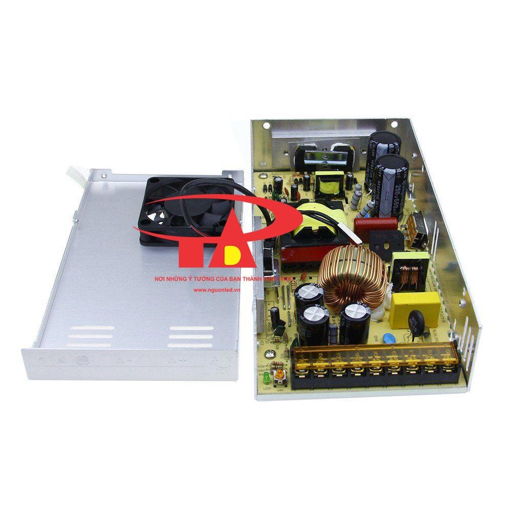 Nguồn led 5v 60A loại tốt dùng cho camera, đèn led và điện công nghiệp mua tại nguonled.vn