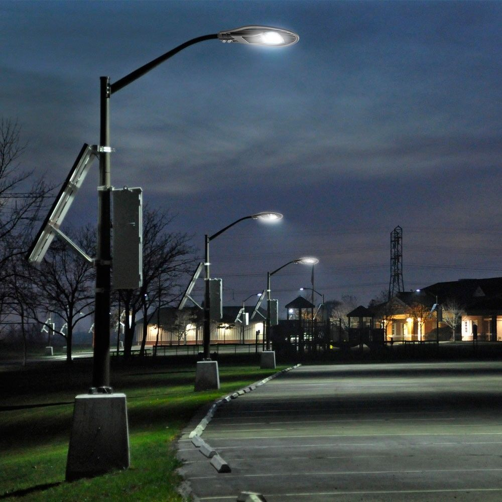 Đèn đường led 200w dùng chiếu sáng công viên, sân vườn, công viên, chiếu sáng đường