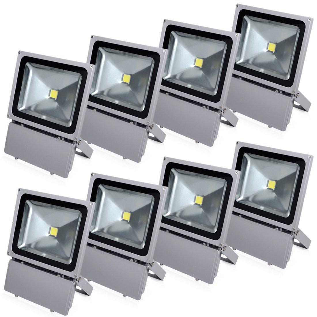 Đèn pha led 100W loại tốt, dùng cho quảng cáo ngoài trời hoặc sân vườn, sản phẩm bảo hành 2 năm, sản phẩm đủ watt