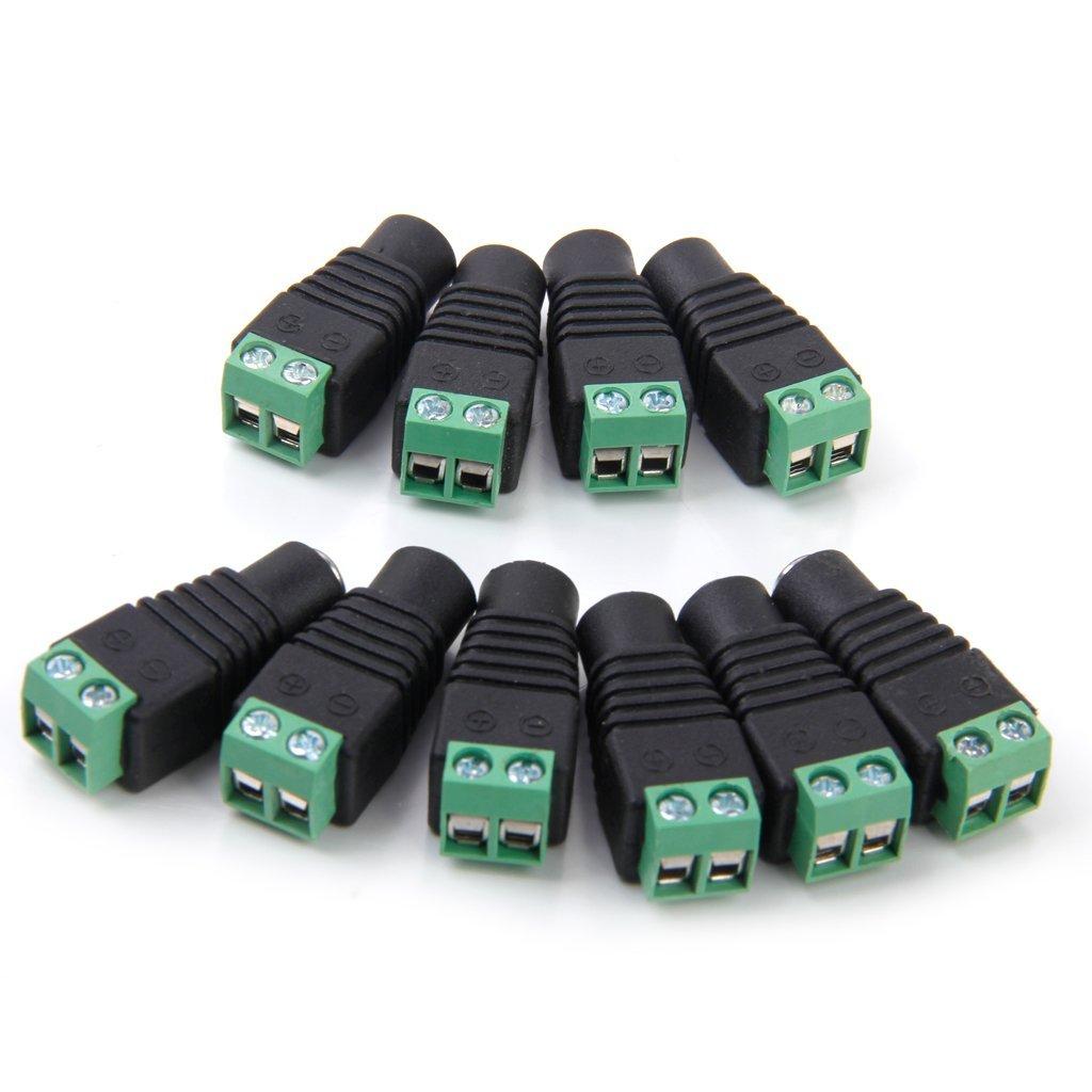 Jack nối nguồn đực, cái dùng cho ccamera và các thiết bị truyền thông mua tại nguonled.vn
