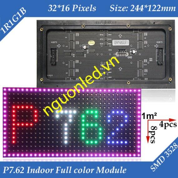 Module P 7.62 full color loại tốt, giá rẻ mua tại nguonled.vn