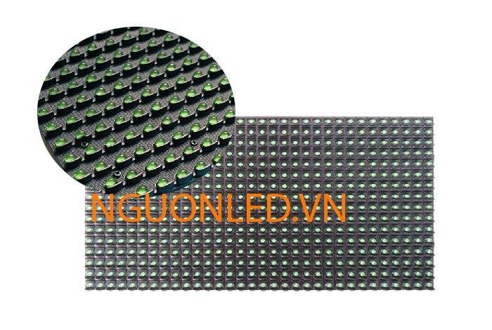 Module P10 màu xanh trong nhà loại tốt, giá rẻ mua tại nguonled.vn