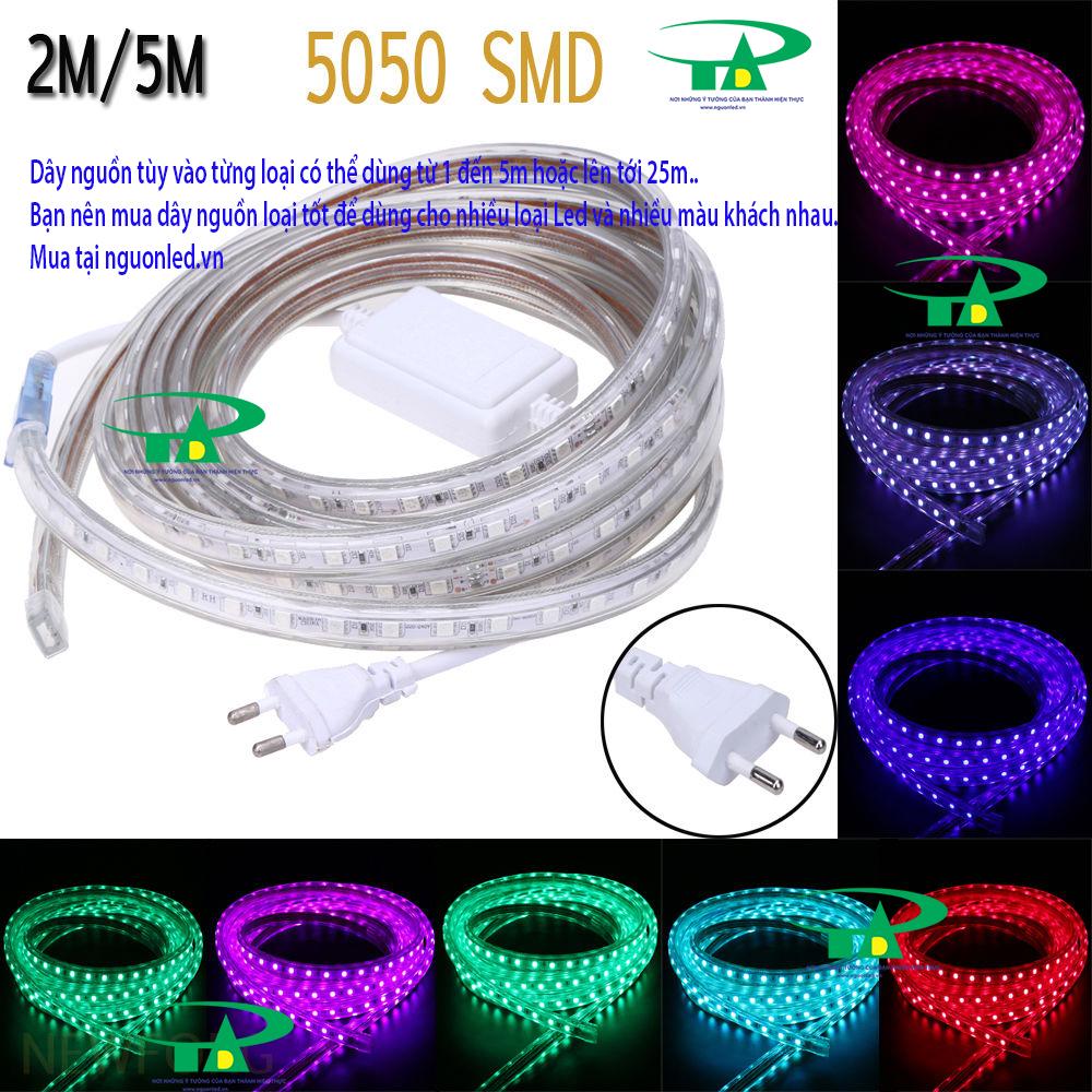 Nguồn đèn led dây 220v