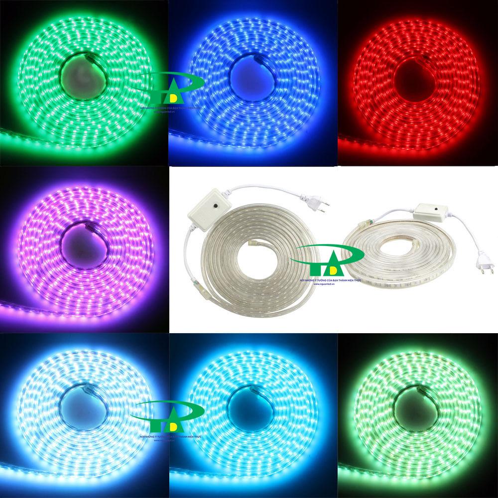 Nguồn đèn led dây 220v RGB