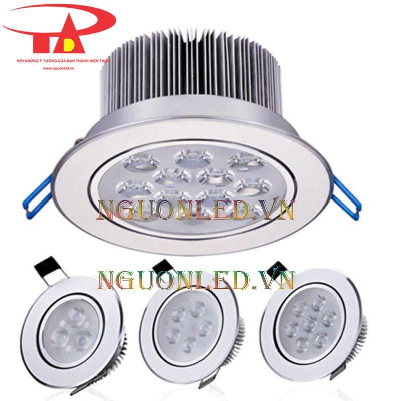 Đèn led downlight 9w hcm