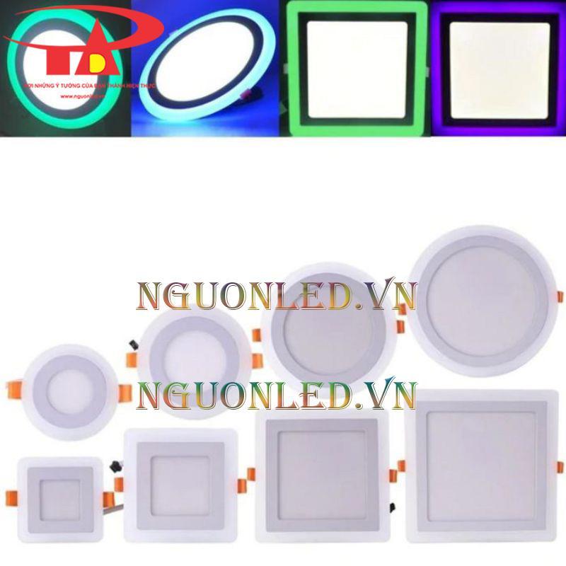 Đèn led âm trần 3 màu