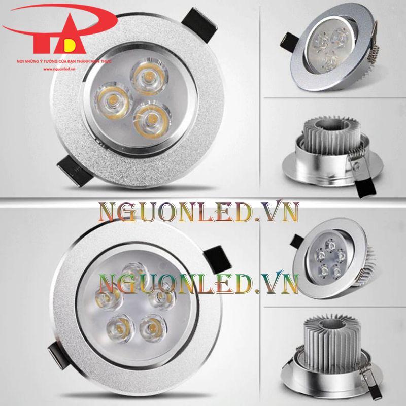 Đèn led downlight 9w tphcm