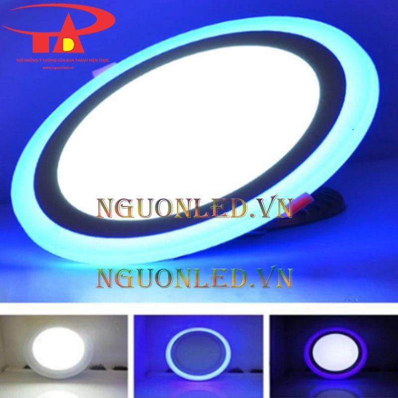 Đèn led âm trần 3 màu tại hà nội