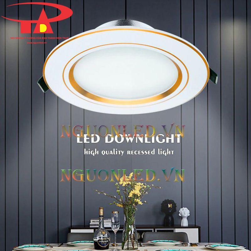 Đèn led downlight 5w chiết khấu cao
