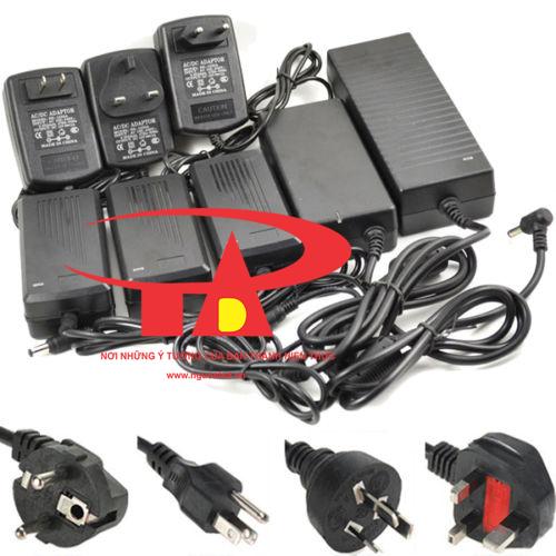 Phân phối sĩ Adapter camera 12V 5A loại tốt, giá rẻ, chất lượng, nguonled.vn