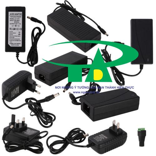 Adapter camera 12V 3A loại tốt bảo hành 1 năm tại nguonled.vn