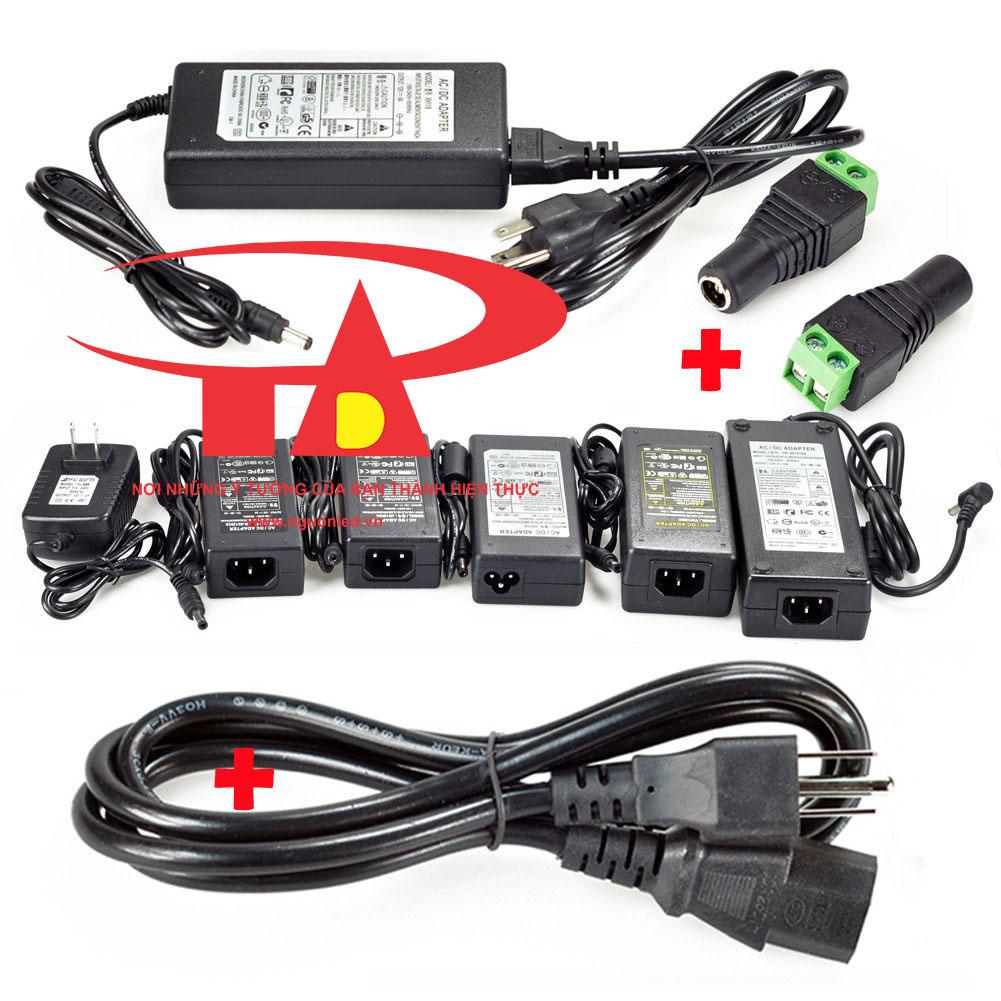 Adapter camera 12V 5A loại tốt dùng cho camera, đèn led, bơm nước minni, linh kiện điện tử, nguonled.vn