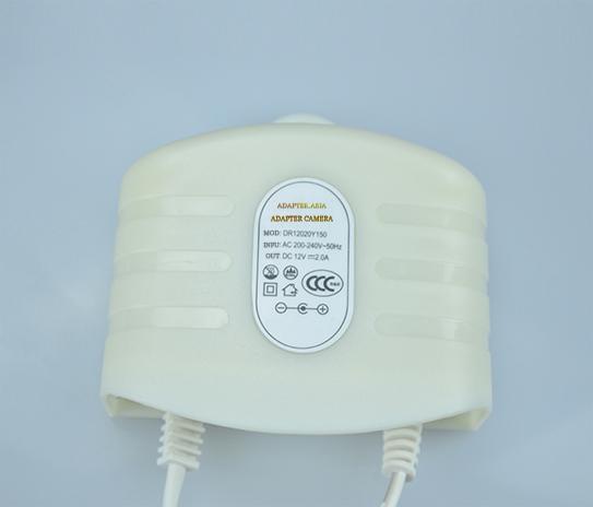Adapter camera 12V 3A màu trắng, loại tốt dùng cho camera, nguonled.vn
