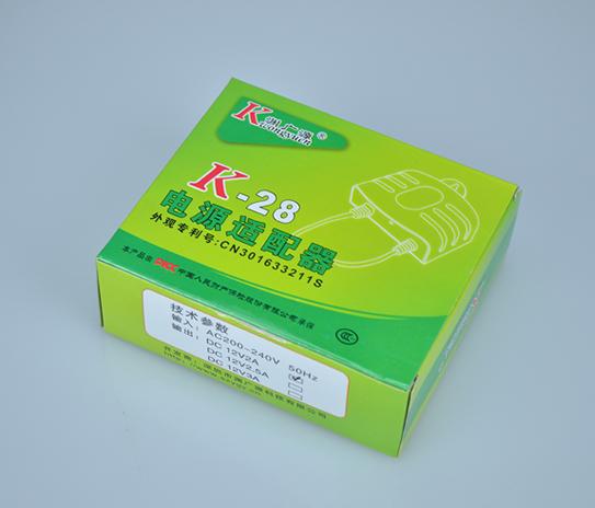 Vỏ hộp  Adapter camera 12V 3A màu trắng, loại tốt dùng cho camera, nguonled.vn