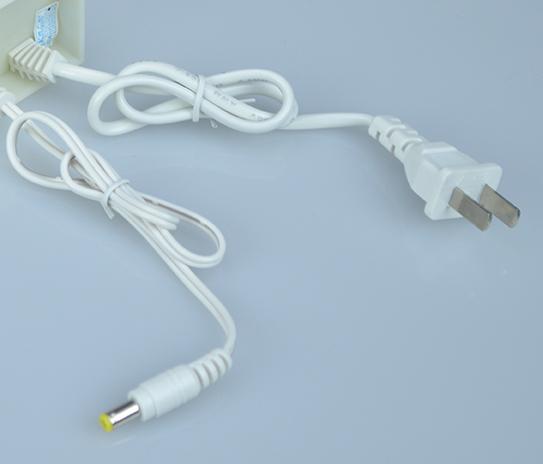 Dây nguồn DC và AC  Adapter camera 12V 3A màu trắng, loại tốt dùng cho camera, nguonled.vn