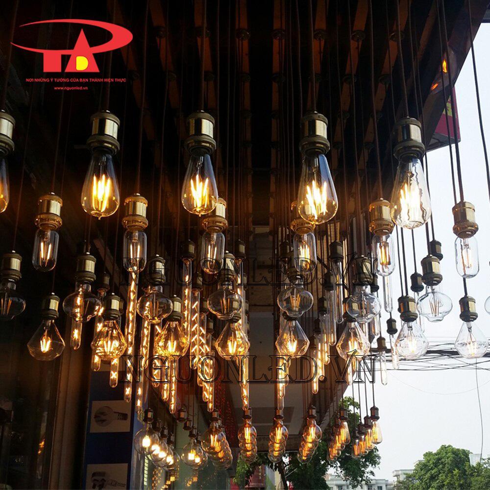 các mẫu đèn trang trí edison
