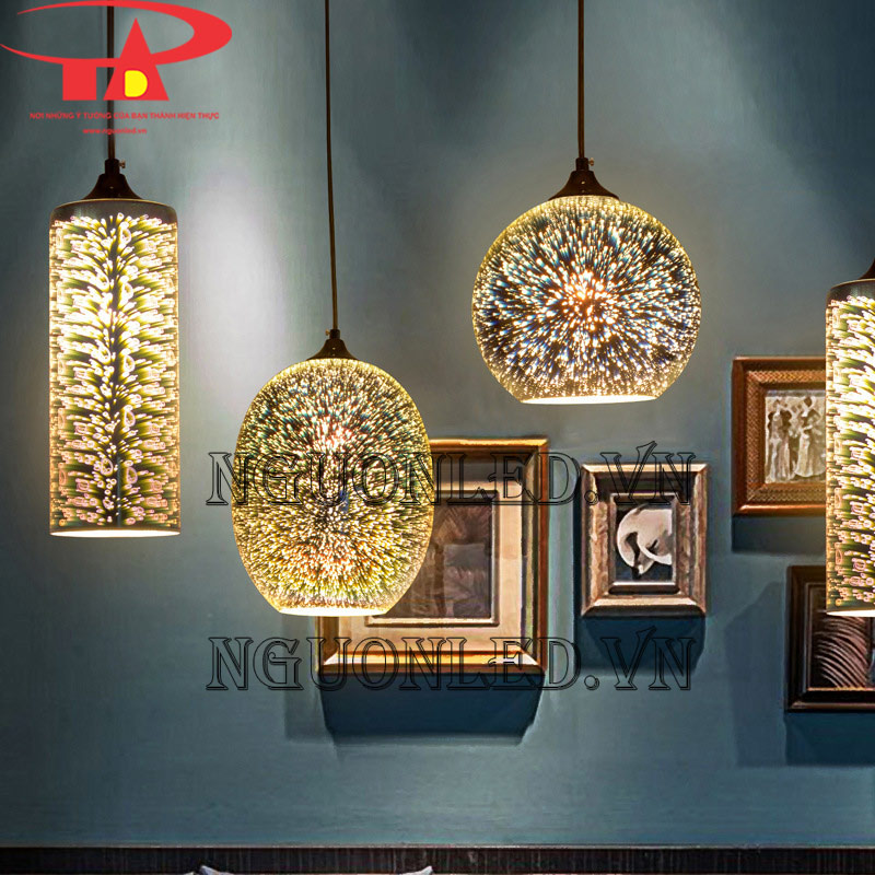 các mẫu đèn pháo hoa trang trí