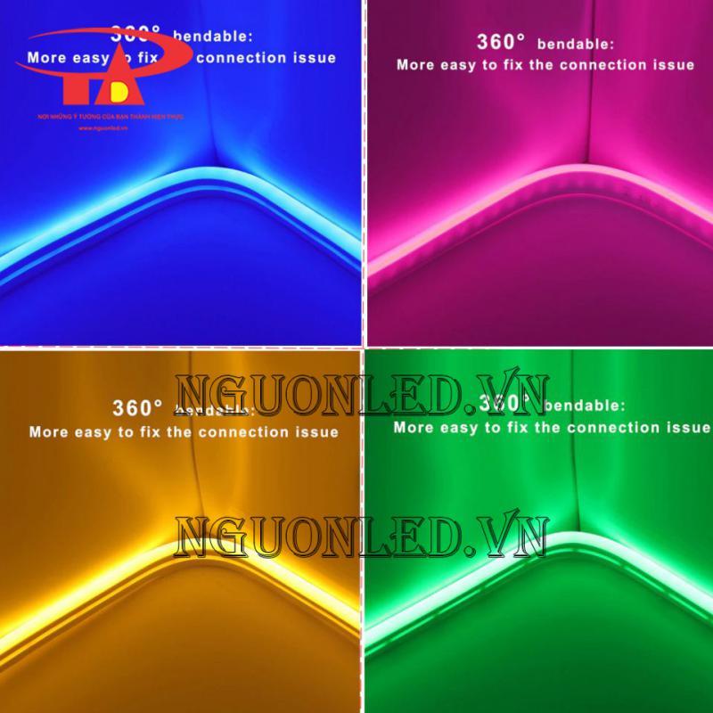 hắt tường đèn led neon