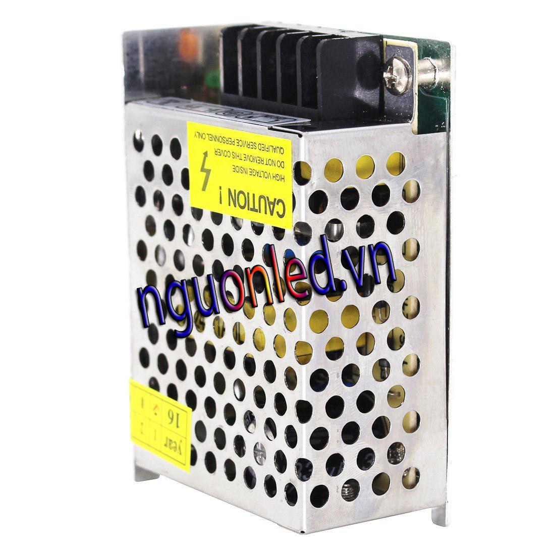 Nguồn tổ ong 24V 1A loại tốt, giá rẻ. chất lượng, đủ ampe, bảo hành 1 năm, nguonled.vn