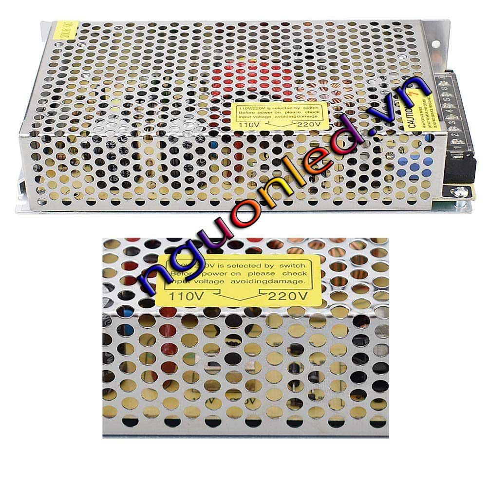 Nguồn DC24V 5A loại tốt, giá rẻ, chất lượng, đủ ampe, mua tại nguonled.vn