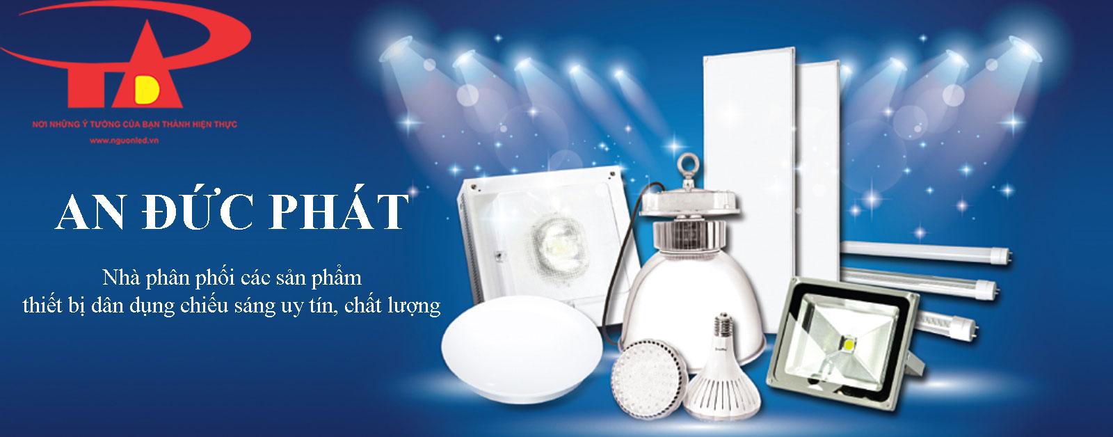 công ty phân phối thiết bị chiếu sáng dân dụng và công trình An Đức Phát