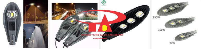 đèn đường năng lượng mặt trời công suất cao An Đức Phát