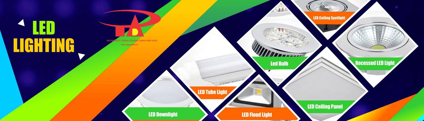 công ty phân phối đèn led chiếu sáng trong nhà và ngoài trời An Đức Phát